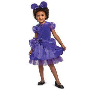 Disney Minnie Mouse Purple Halloween Costume Dress